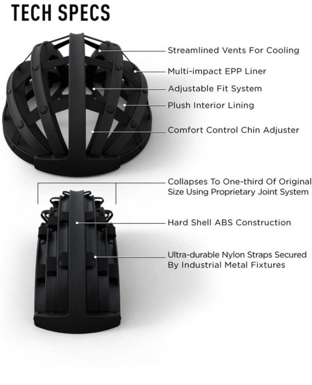Fend- the Collapsible Bicycle Helmet (1)
