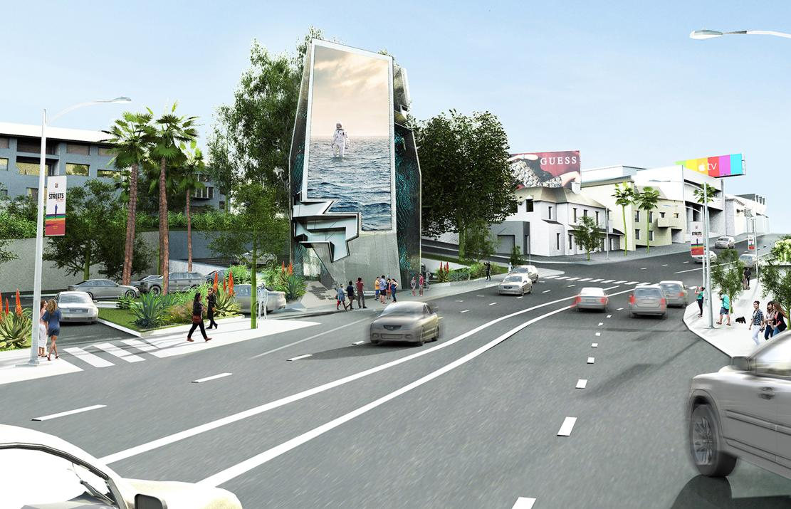 Giant digital billboard to be installed in Hollywood (1)