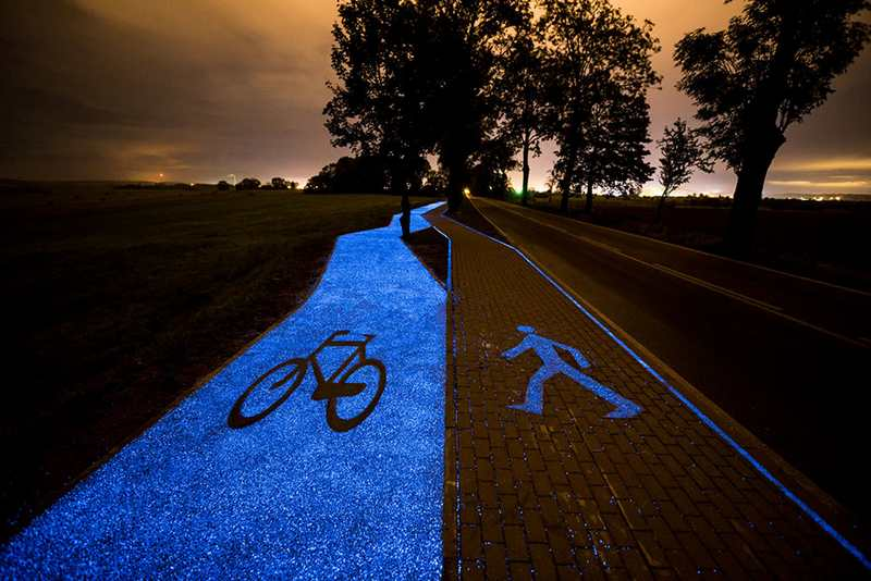 Glow-In-The-Dark Bicycle Path (4)