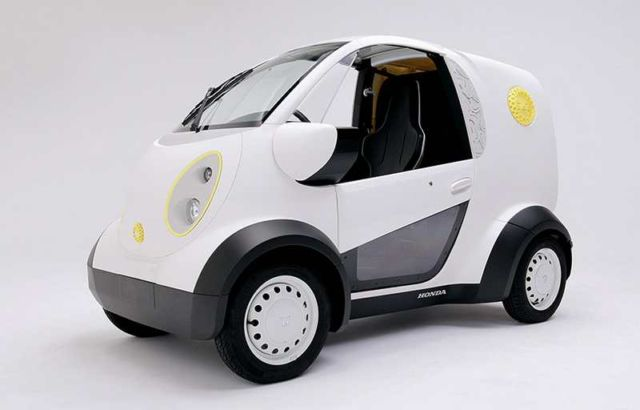 Honda - Kabuku 3D print electric Mini Van (3)