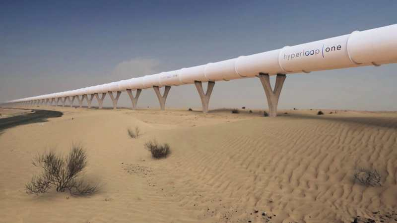 Hyperloop to connect Abu Dhabi and Dubai