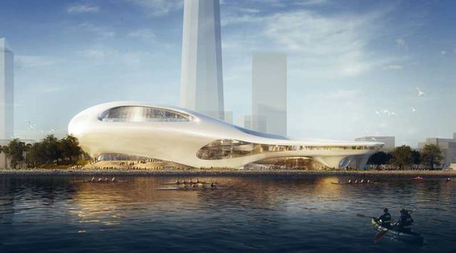 MAD Architects proposal for Lucas museum of Narrative Art