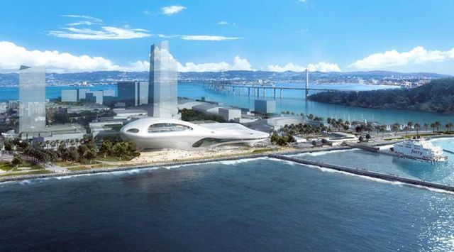 MAD Architects proposal for Lucas museum of Narrative Art (3)