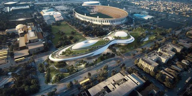 MAD Architects proposal for Lucas museum of Narrative Art (2)