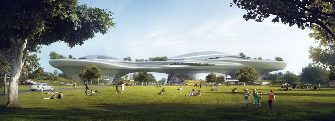 MAD Architects proposal for Lucas museum of Narrative Art (1)