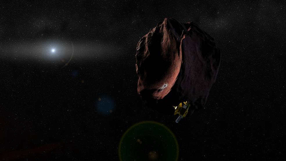 new-horizons-spacecraft-approaching-a-reddish-peculiar-object-1