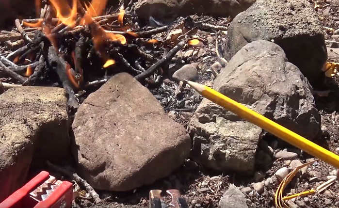 Starting a Fire with a Pencil