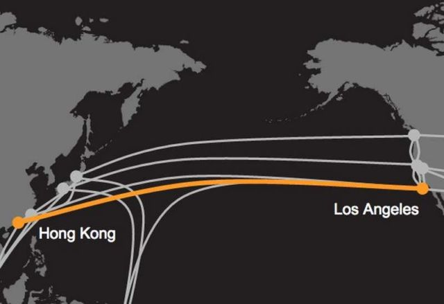 The Fastest Trans-Pacific Cable ever