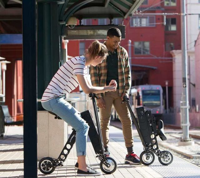 URB-E Folding Electric Scooter (2)