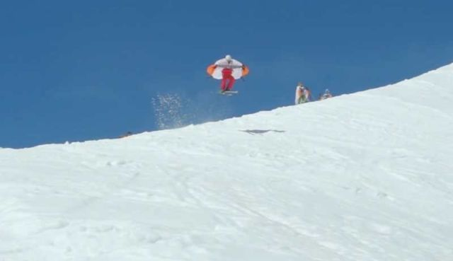 Wingjump- first wings for skiing