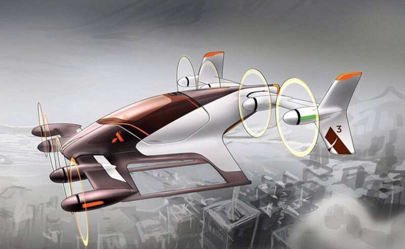Airbus Vahana Flying Taxis