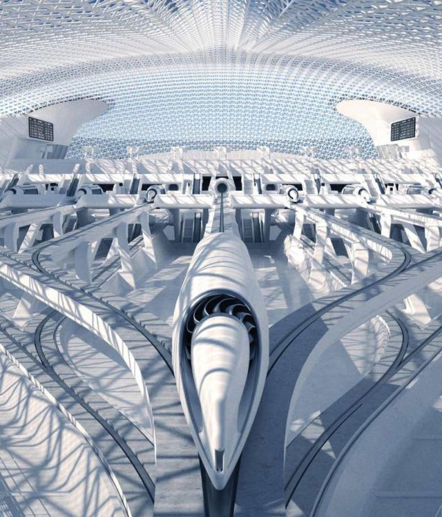 Hyperloop Station by RB Systems