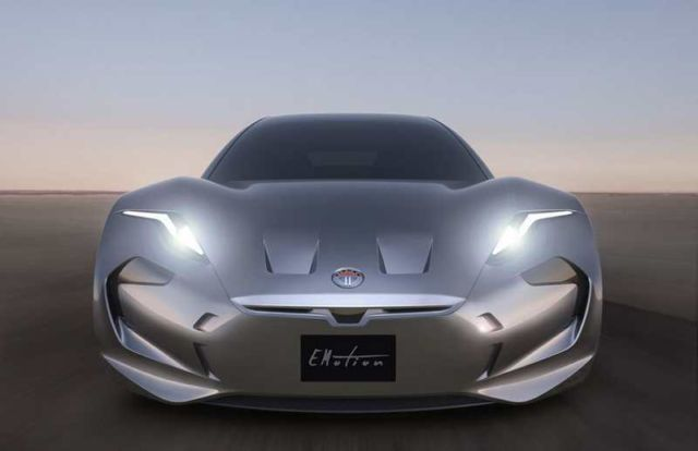 Fisker EMotion new electric vehicle