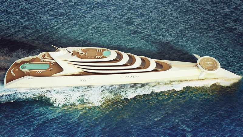 L'Amage 190 meters Superyacht (10)