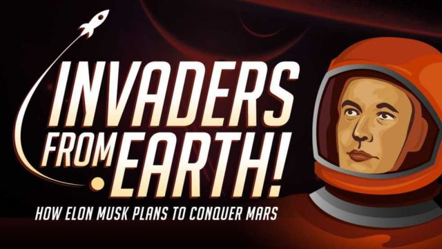 Mars- Invaders from Earth