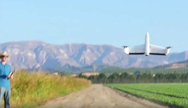 Quantix Drone can fly like an airplane