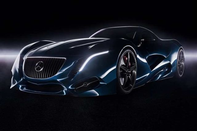 The amazing Mercedes I concept