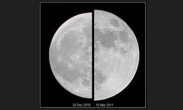 The largest Supermoon in 68 years