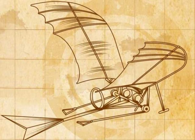 The remarkable Inventions of Leonardo da Vinci