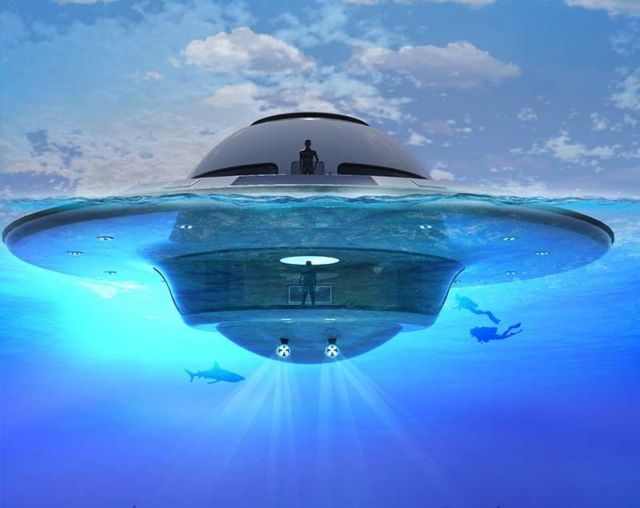 U.F.O Houseboat 2.0 for open water (11)