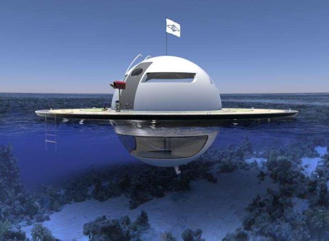 U.F.O Houseboat 2.0 for open water (10)