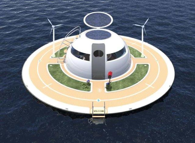 U.F.O Houseboat 2.0 for open water (8)