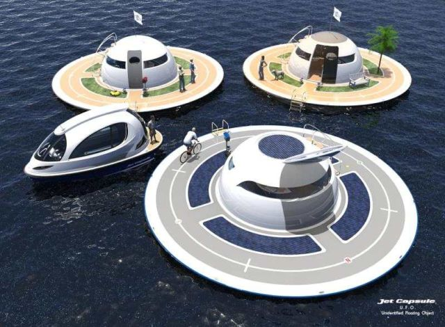 U.F.O Houseboat 2.0 for open water (7)