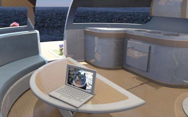 U.F.O Houseboat 2.0 for open water (6)