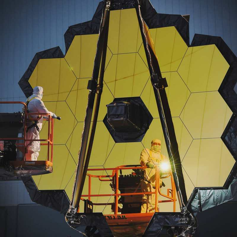 Webb Space Telescope completed