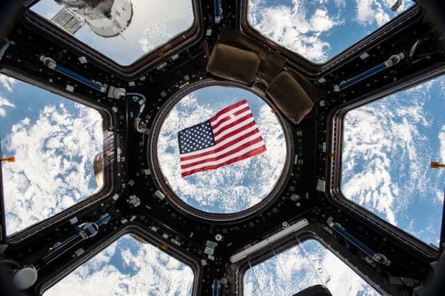 Election Day 2016 in ISS