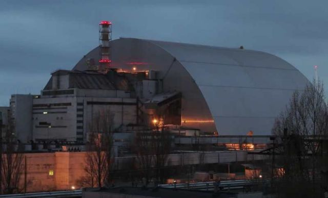 Chernobyl's gigantic Radiation Shield