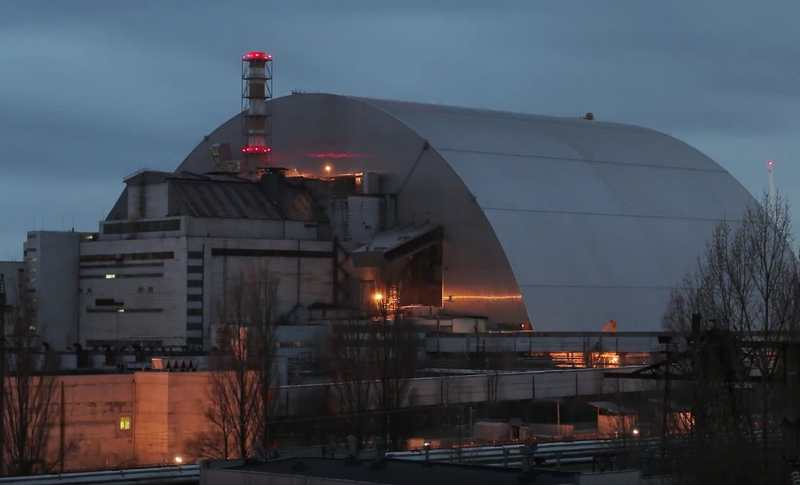 Chernobyl's gigantic Radiation Shield (1)