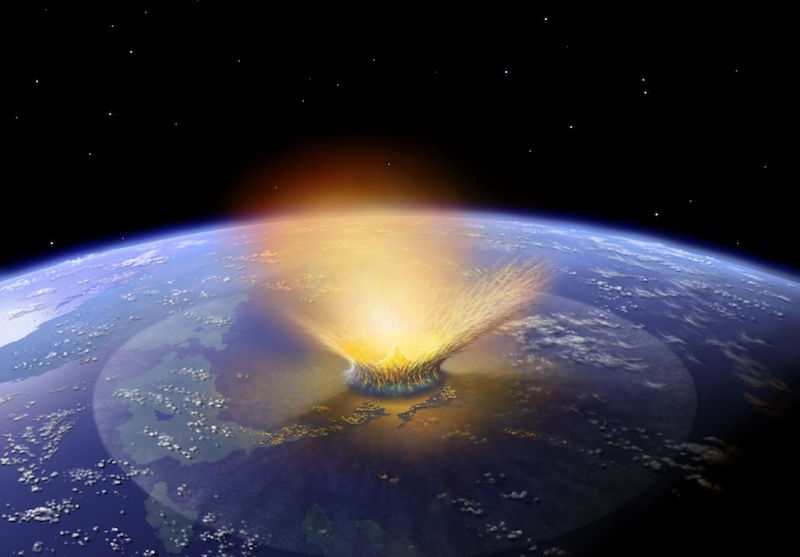 Earth's Asteroid Strike