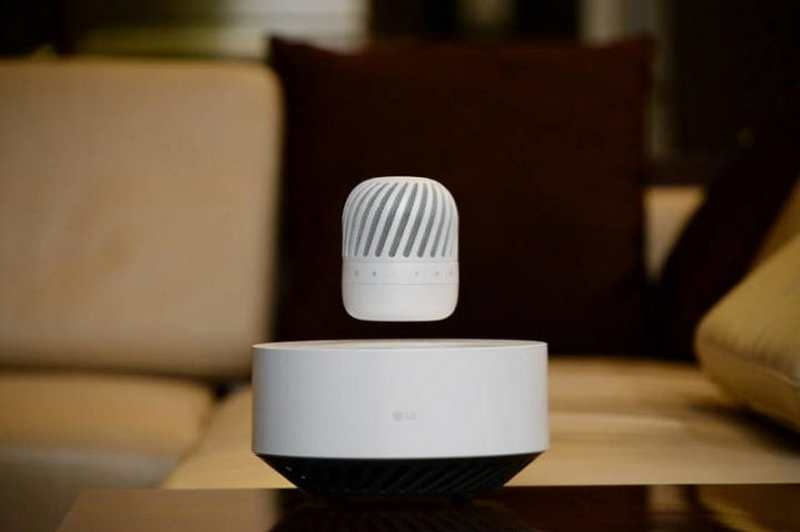 LG's Levitating Portable Speaker