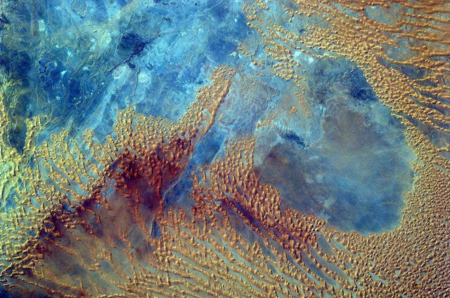 Sahara Desert From the Space Station