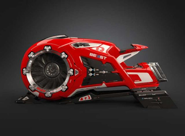The Beast Hoverbike (3)