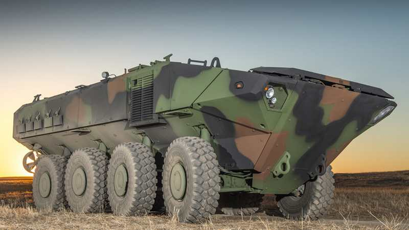 BAE System new Amphibious Combat Vehicle for U.S. Marines (6)