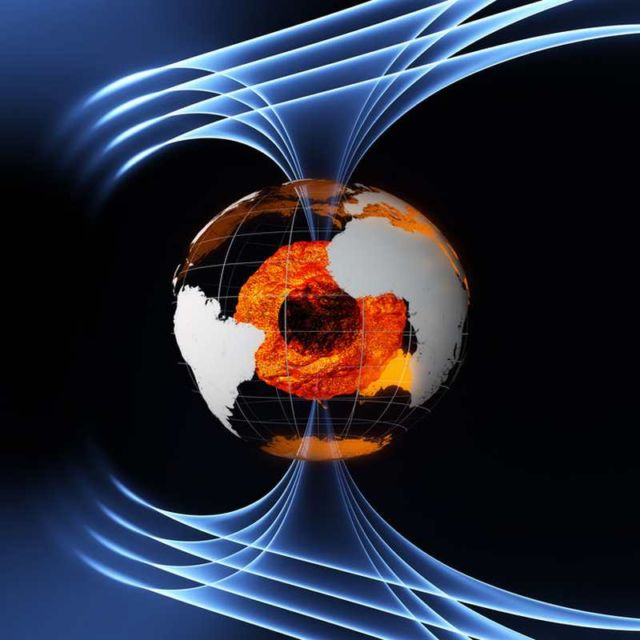 Jet Stream in Earth's Core