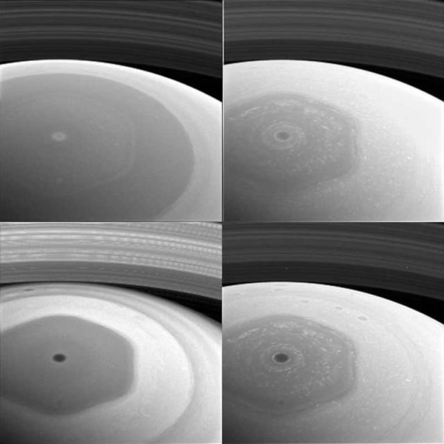 Saturn's Turbulent North