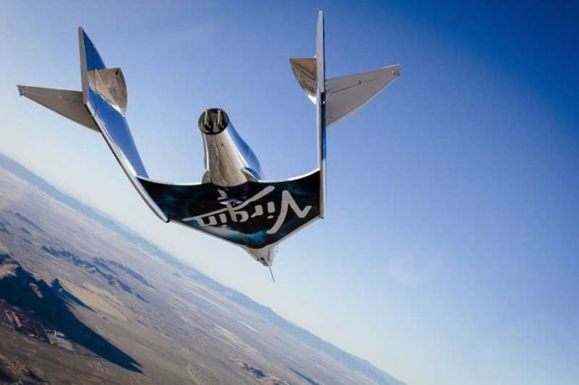 Virgin Galactic is flying back to space