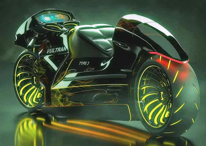 Vultran Type 3 motorcycle concept (7)