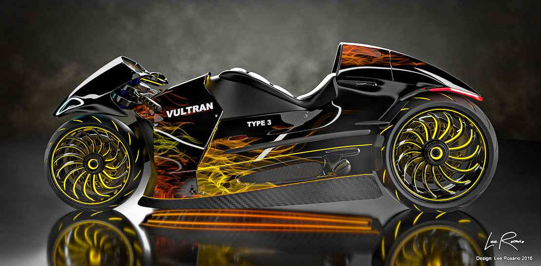 Vultran Type 3 motorcycle concept (1)