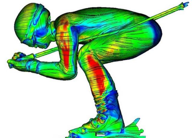 3D images unveil the airflow around Skiers (2)