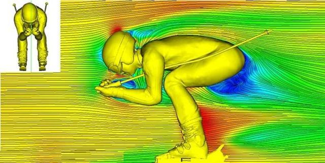3D images unveil the airflow around Skiers (1)