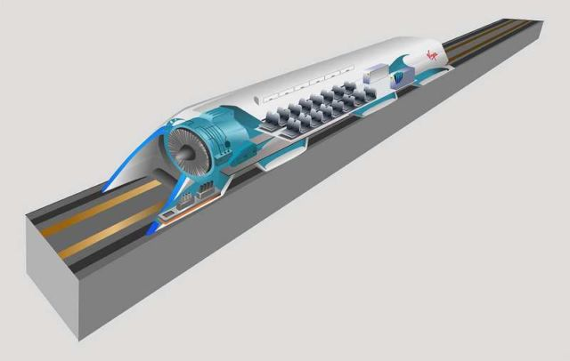 A near-Supersonic Train made in Korea