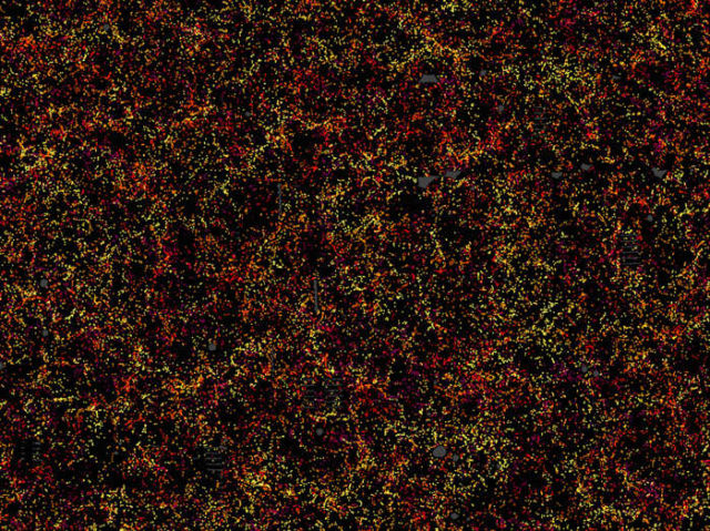 Largest-ever 3D map of the Universe