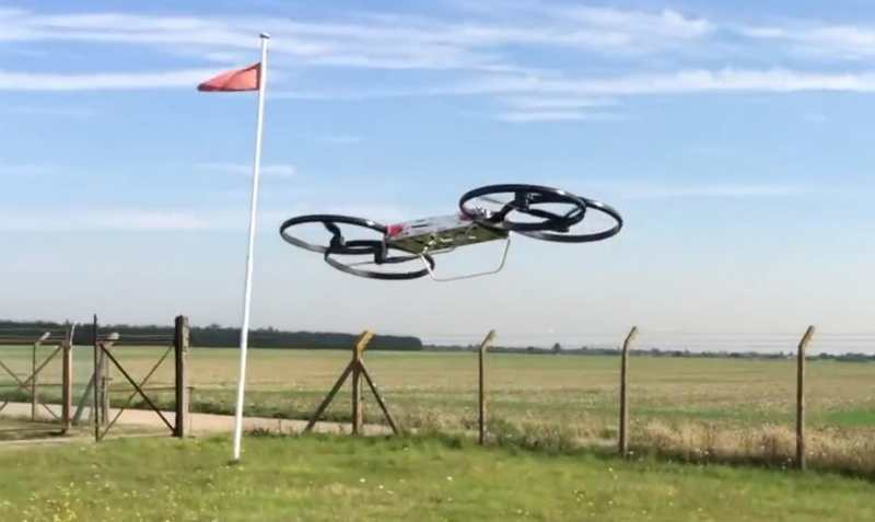 Army flies first Hoverbike prototype
