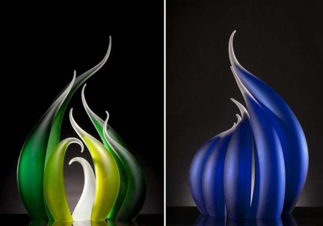 Glass Sculptures by Rick Eggert (1)