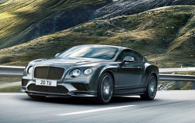 the bentley continental supersports is the most powerful model ever. Cars Review. Best American Auto & Cars Review