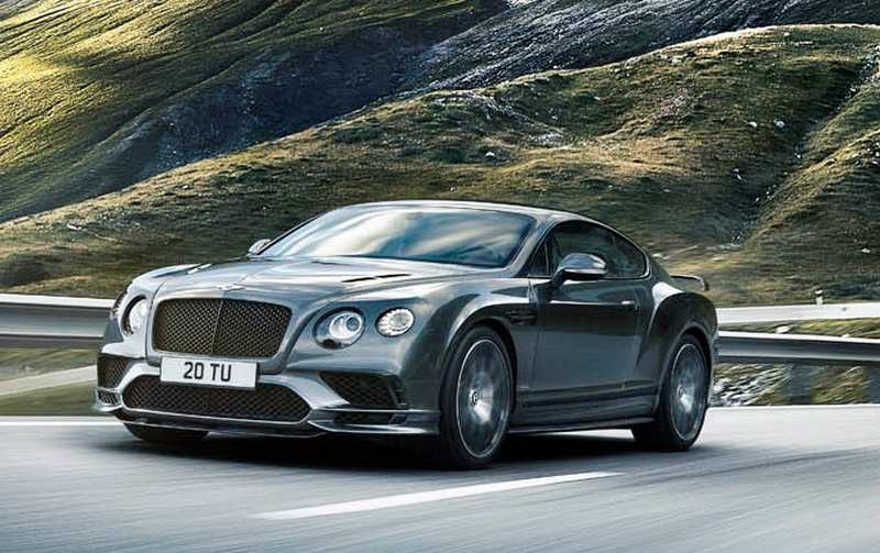 wordlesstech bentley continental supersports 2018. Black Bedroom Furniture Sets. Home Design Ideas
